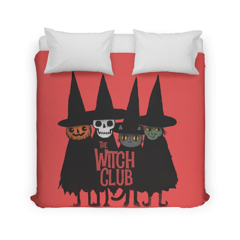 Witch Club Home Duvet by Pepe Rodríguez