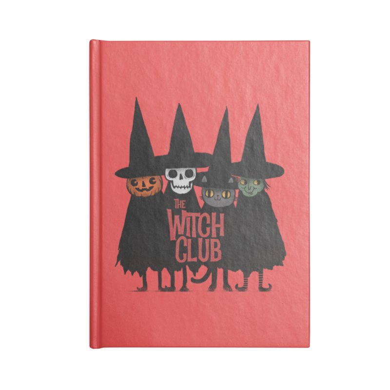 Witch Club Accessories Lined Journal Notebook by Pepe Rodríguez