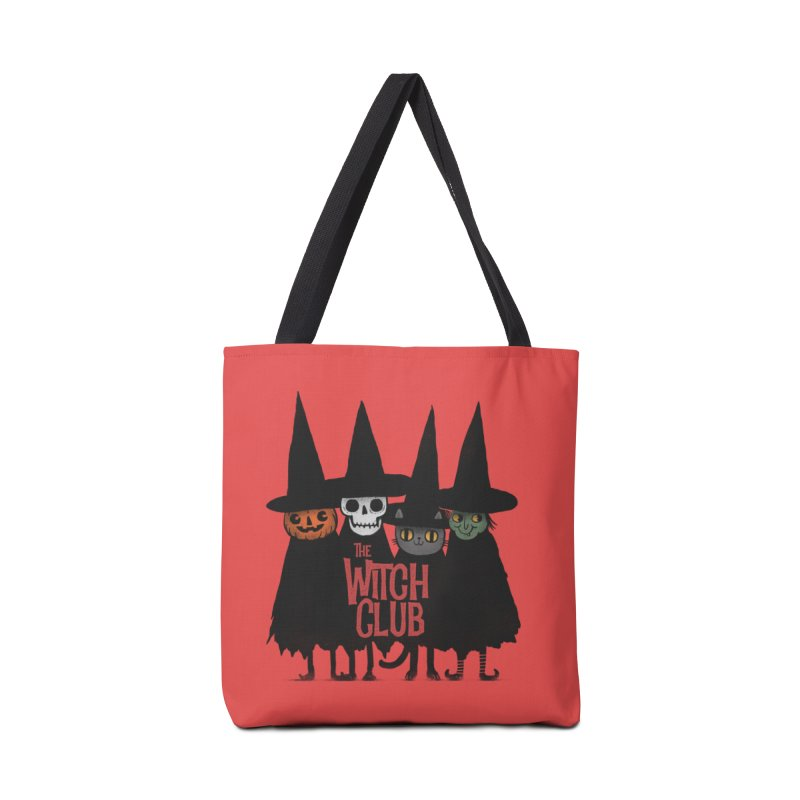 Witch Club Accessories Tote Bag Bag by Pepe Rodríguez