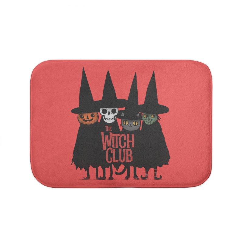 Witch Club Home Bath Mat by Pepe Rodríguez