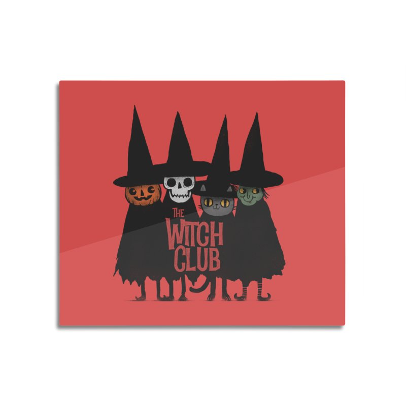 Witch Club Home Mounted Aluminum Print by Pepe Rodríguez