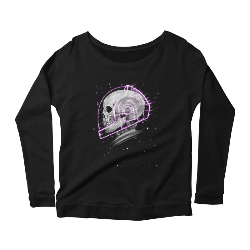 Human Women's Scoop Neck Longsleeve T-Shirt by Pepe Rodríguez