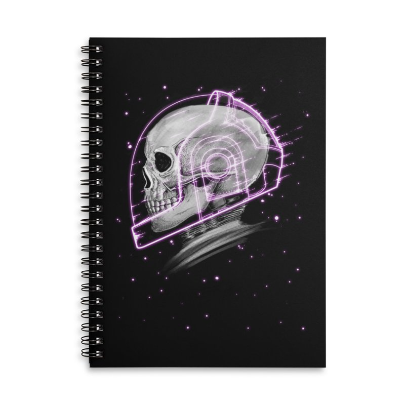 Human Accessories Lined Spiral Notebook by Pepe Rodríguez