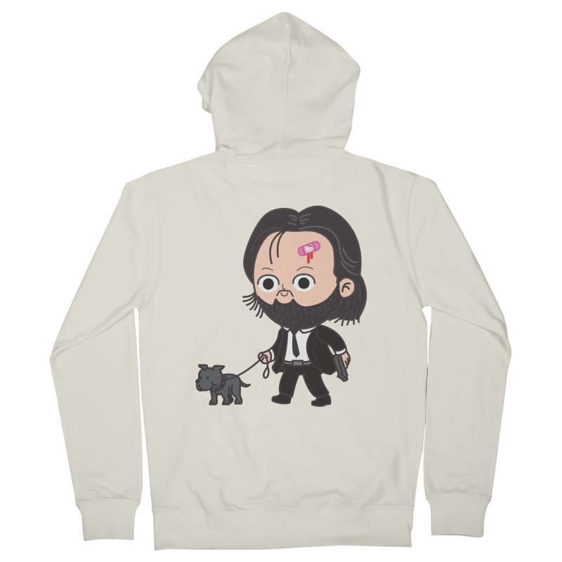 Rollin' Men's French Terry Zip-Up Hoody by Pepe Rodríguez
