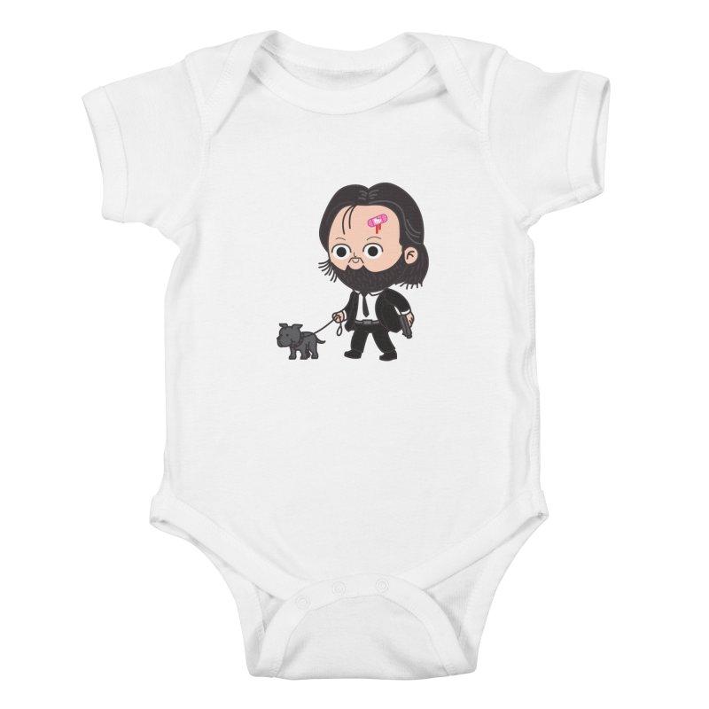 Rollin' Kids Baby Bodysuit by Pepe Rodríguez