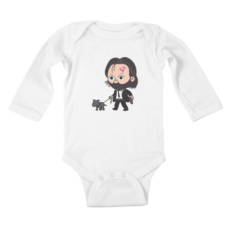 Rollin' Kids Baby Longsleeve Bodysuit by Pepe Rodríguez