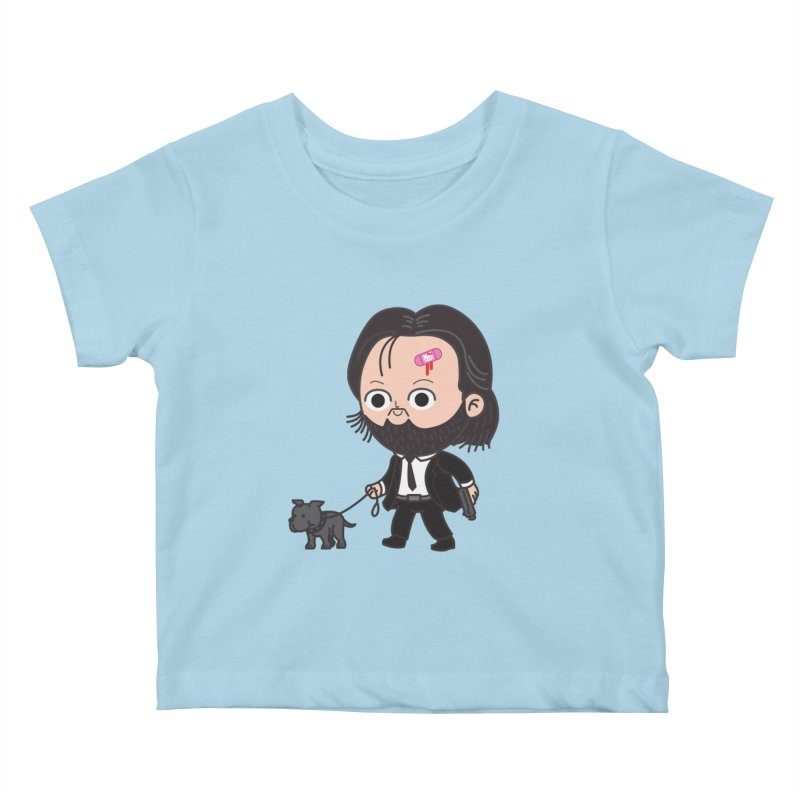 Rollin' Kids Baby T-Shirt by Pepe Rodríguez