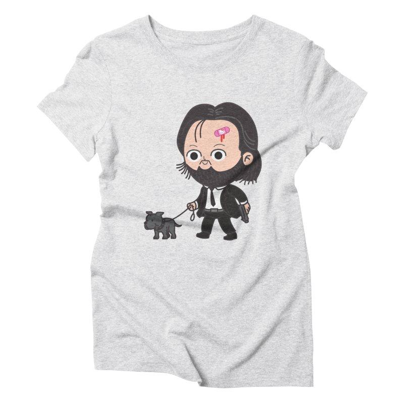 Rollin' Women's Triblend T-Shirt by Pepe Rodríguez