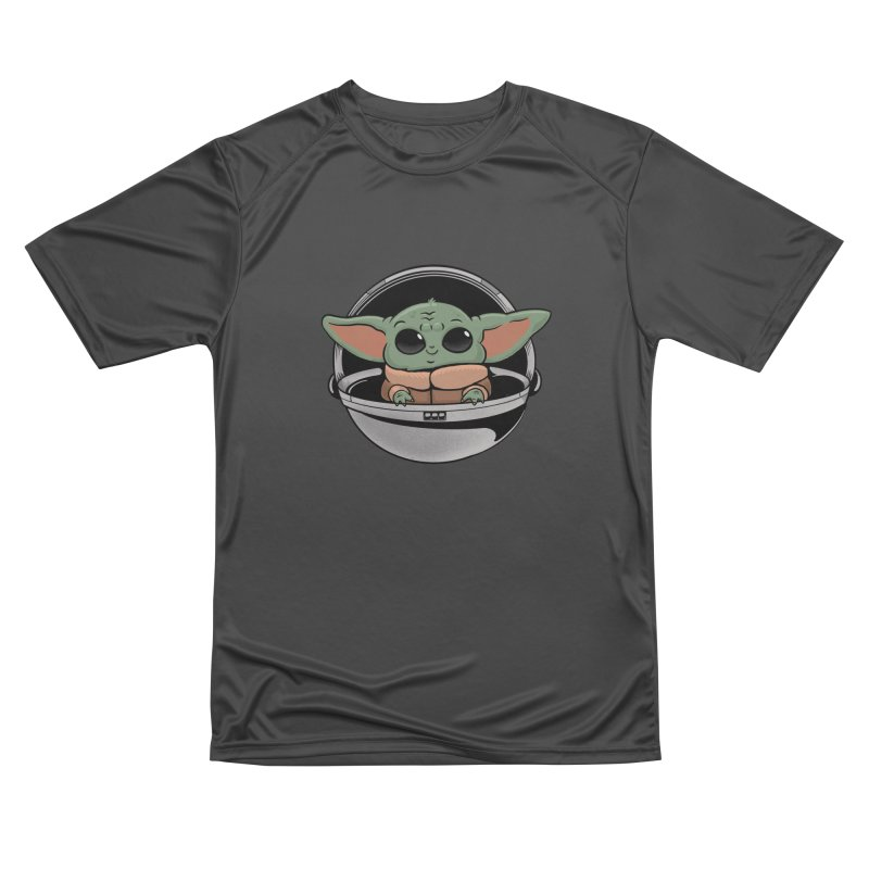 Baby Yoda Women's Performance Unisex T-Shirt by Pepe Rodríguez
