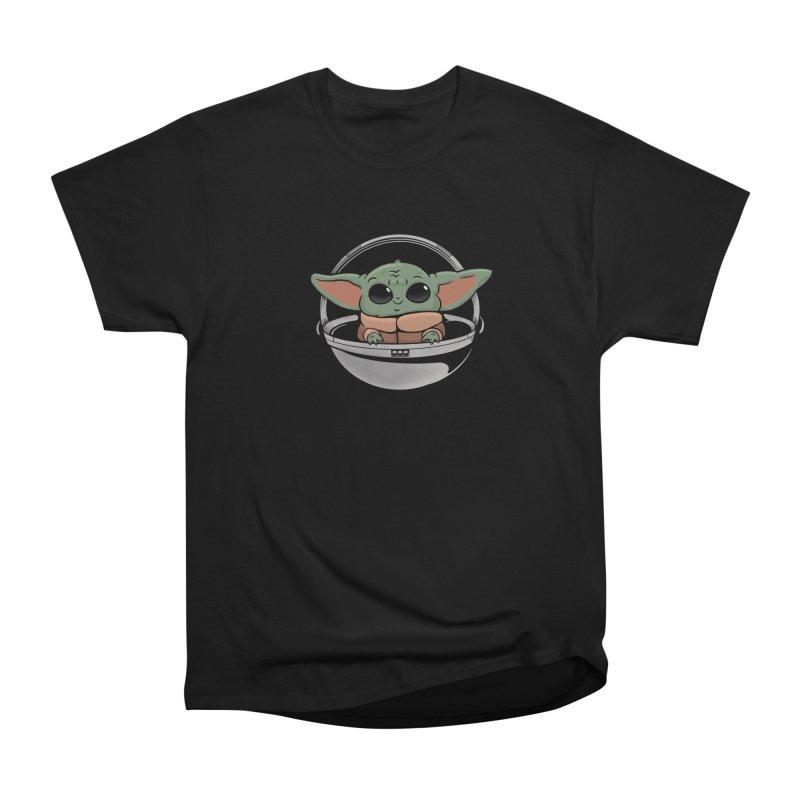 Baby Yoda Women's Heavyweight Unisex T-Shirt by Pepe Rodríguez