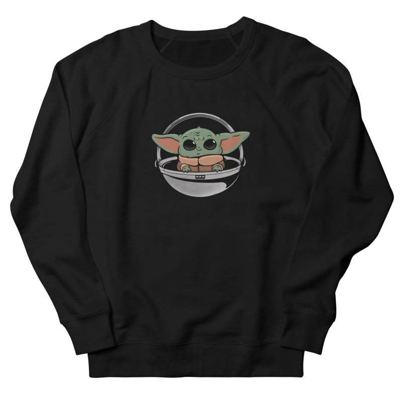 Baby Yoda Men's French Terry Sweatshirt by Pepe Rodríguez