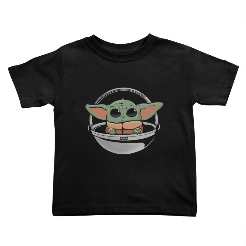 Baby Yoda Kids Toddler T-Shirt by Pepe Rodríguez