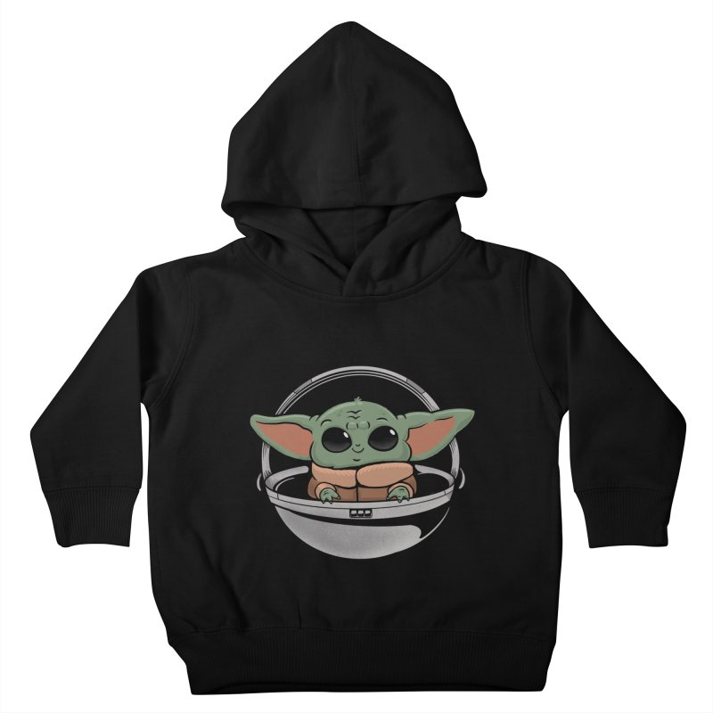 Baby Yoda Kids Toddler Pullover Hoody by Pepe Rodríguez