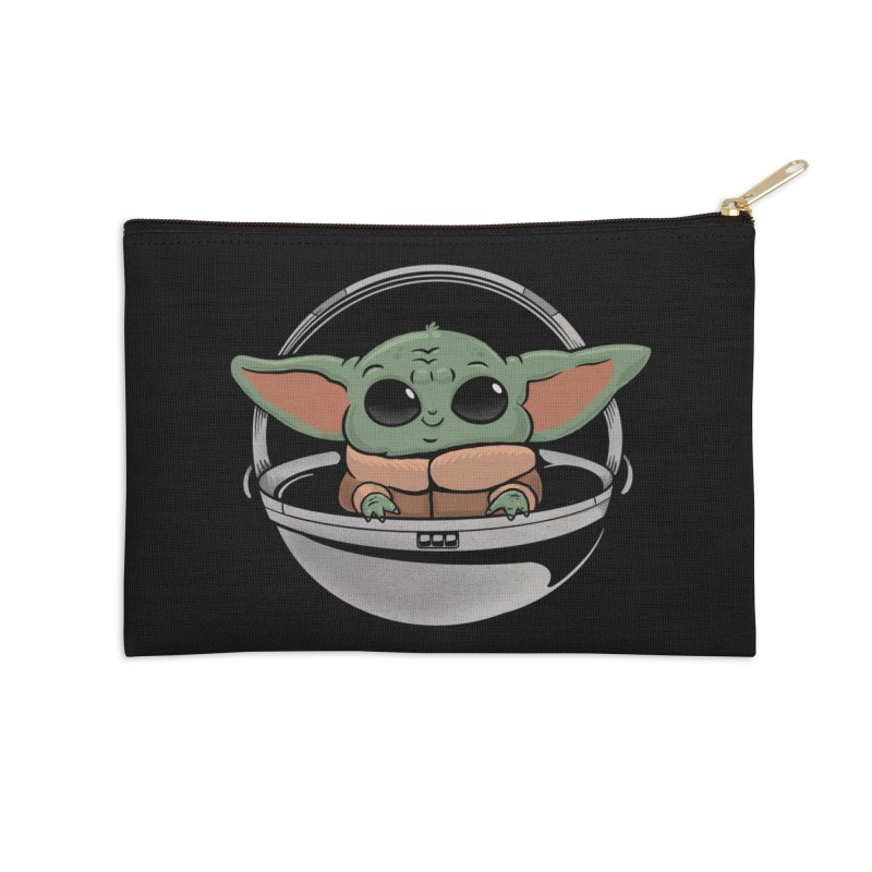 Baby Yoda Accessories Zip Pouch by Pepe Rodríguez