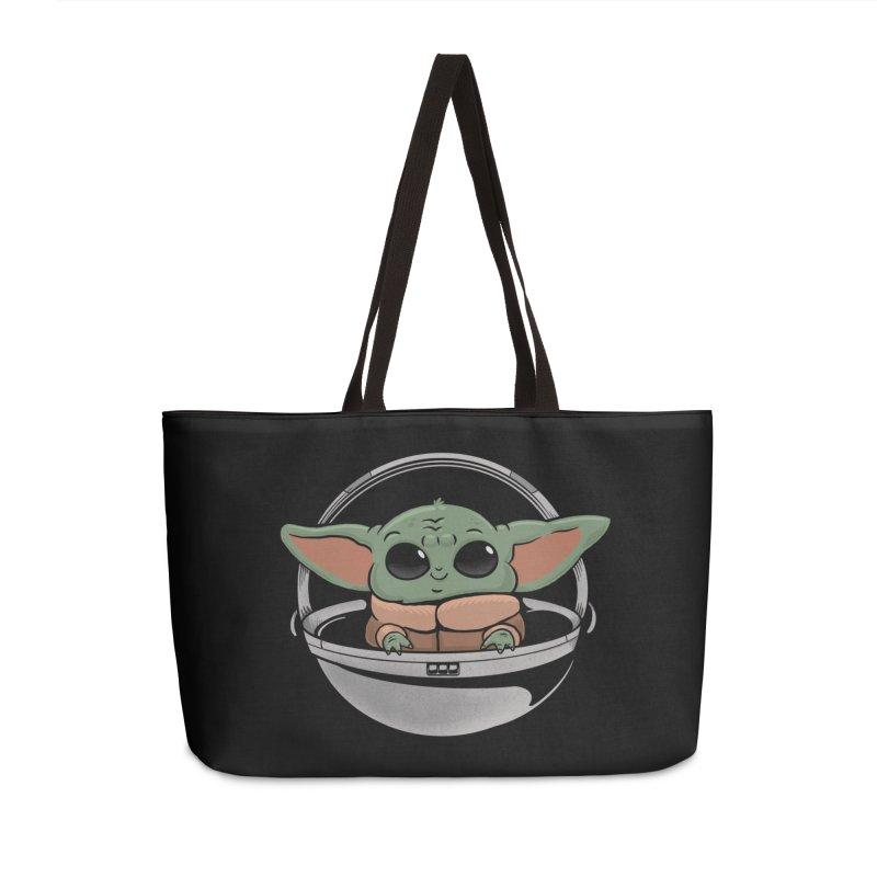 Baby Yoda Accessories Weekender Bag Bag by Pepe Rodríguez