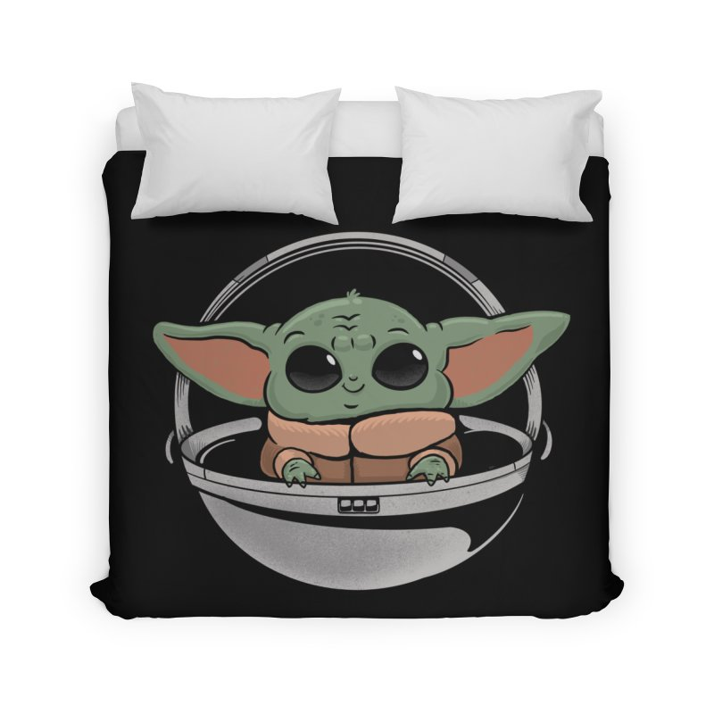 Baby Yoda Home Duvet by Pepe Rodríguez