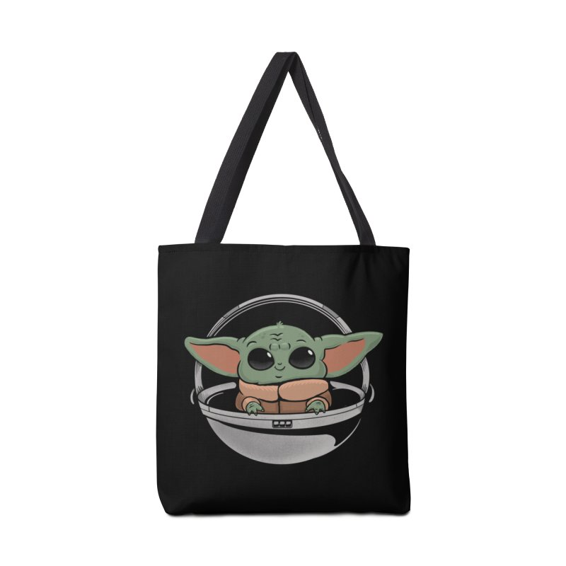 Baby Yoda Accessories Tote Bag Bag by Pepe Rodríguez