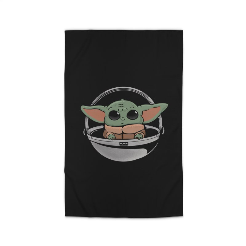 Baby Yoda Home Rug by Pepe Rodríguez
