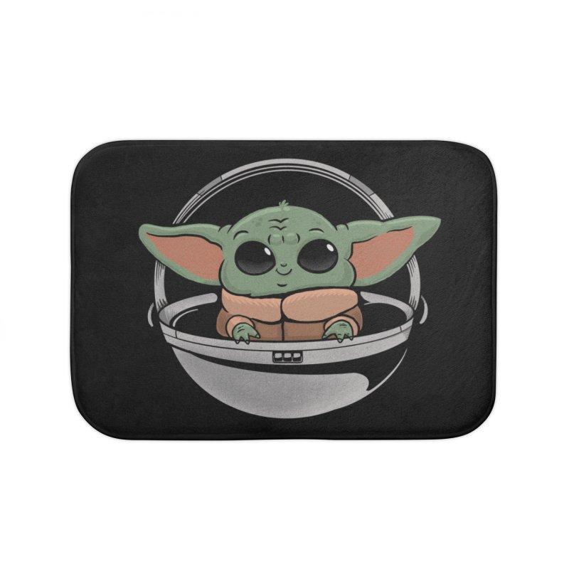 Baby Yoda Home Bath Mat by Pepe Rodríguez