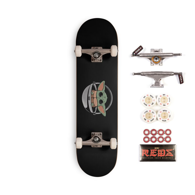 Baby Yoda Accessories Complete - Pro Skateboard by Pepe Rodríguez