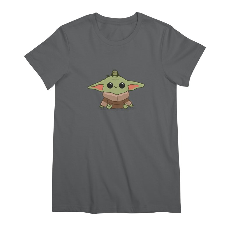 Baby Yoda and Frog Women's T-Shirt by Pepe Rodríguez