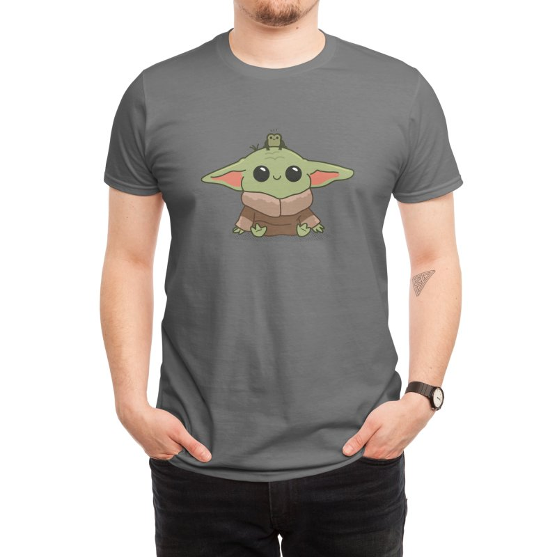 Baby Yoda and Frog Men's T-Shirt by Pepe Rodríguez