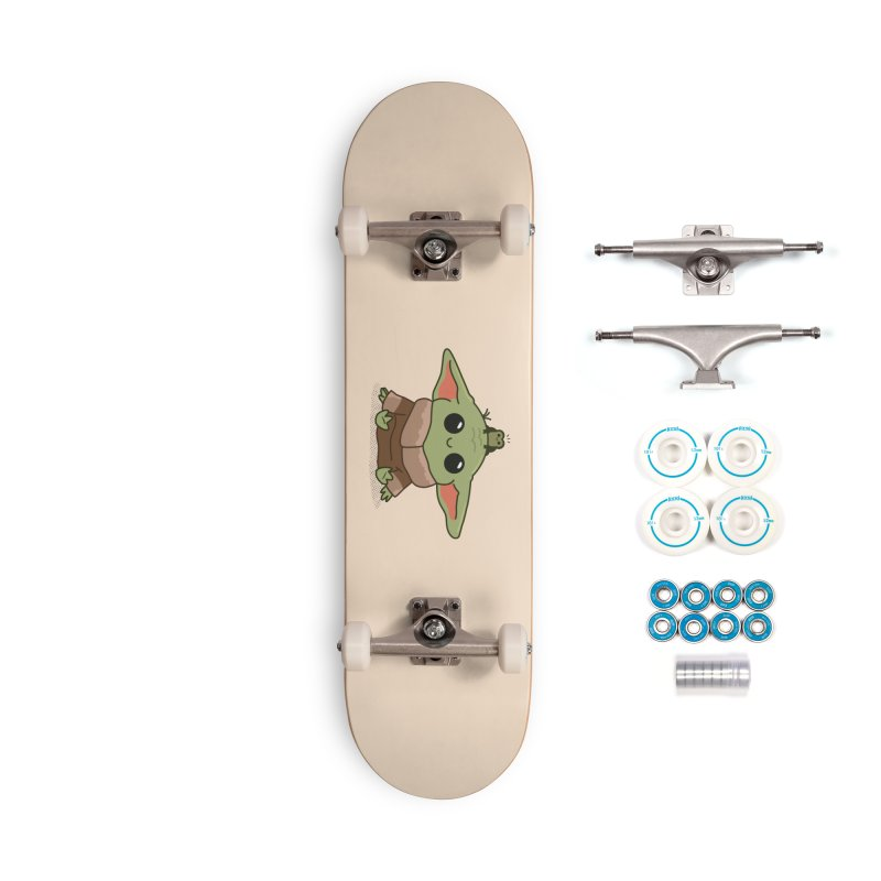 Baby Yoda and Frog Accessories Complete - Basic Skateboard by Pepe Rodríguez