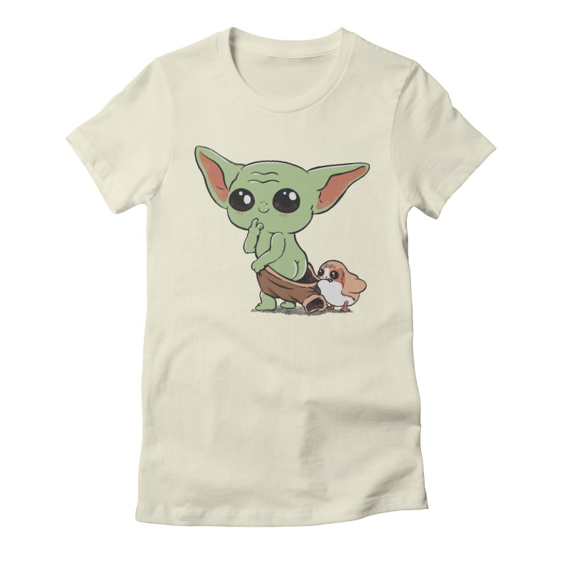 Baby Yoda and Porg Women's T-Shirt by Pepe Rodríguez