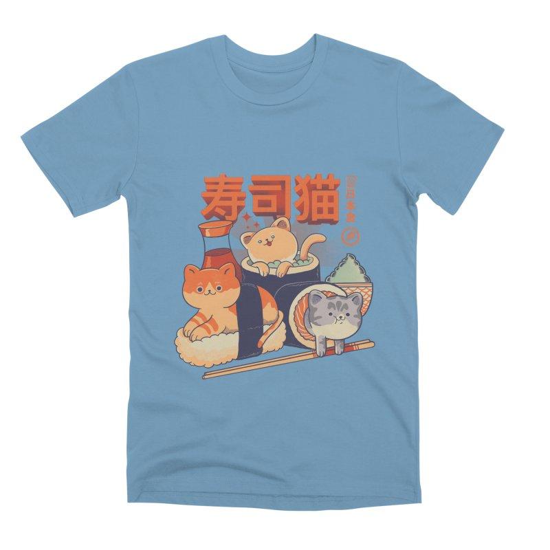 Sushi Cats Men's Premium T-Shirt by Pepe Rodríguez
