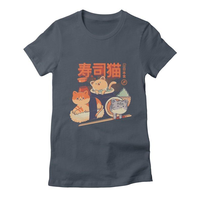 Sushi Cats Women's T-Shirt by Pepe Rodríguez