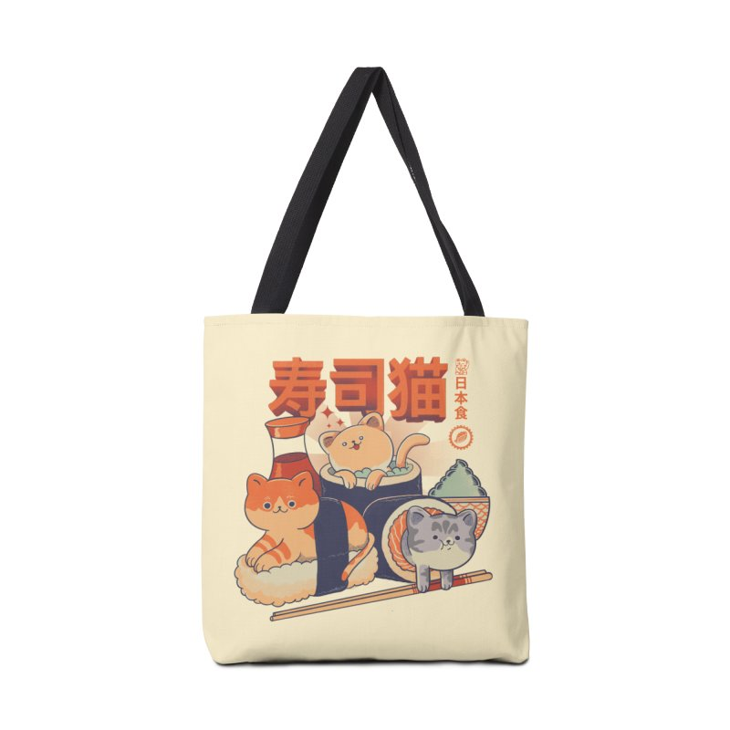 Sushi Cats Accessories Bag by Pepe Rodríguez