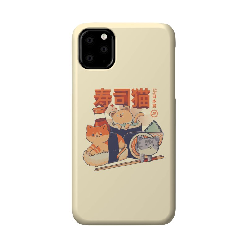 Sushi Cats Accessories Phone Case by Pepe Rodríguez
