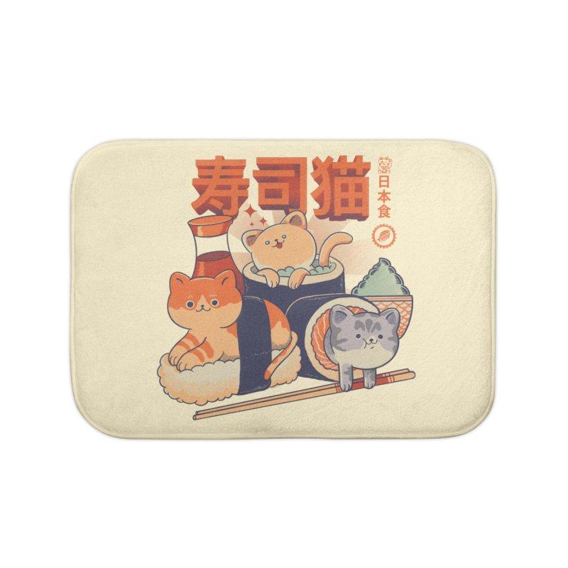 Sushi Cats Home Bath Mat by Pepe Rodríguez