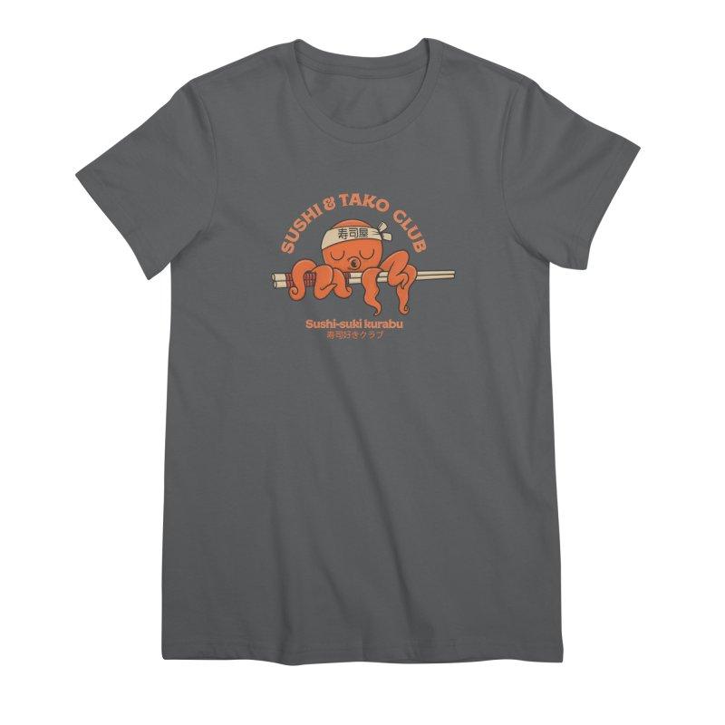Sushi and Tako Club Women's T-Shirt by Pepe Rodríguez