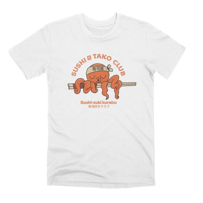 Sushi and Tako Club Men's Premium T-Shirt by Pepe Rodríguez