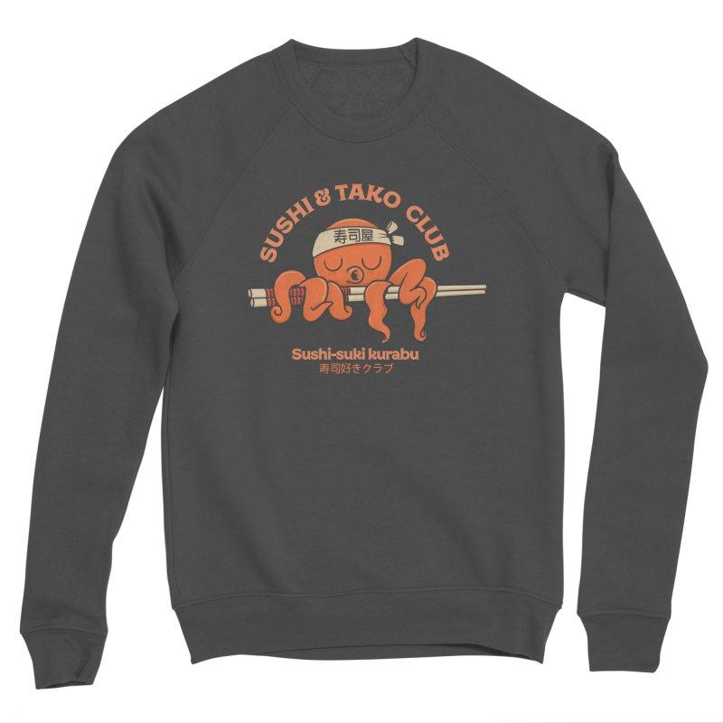 Sushi and Tako Club Men's Sponge Fleece Sweatshirt by Pepe Rodríguez
