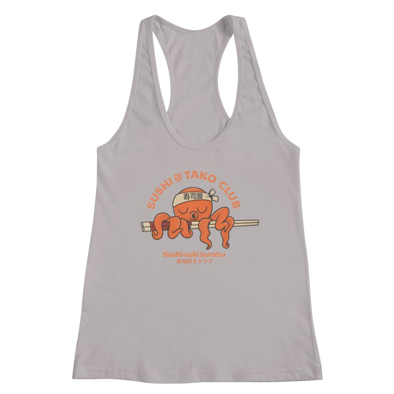 Sushi and Tako Club Women's Racerback Tank by Pepe Rodríguez