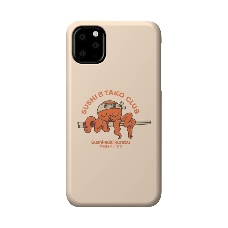 Sushi and Tako Club Accessories Phone Case by Pepe Rodríguez