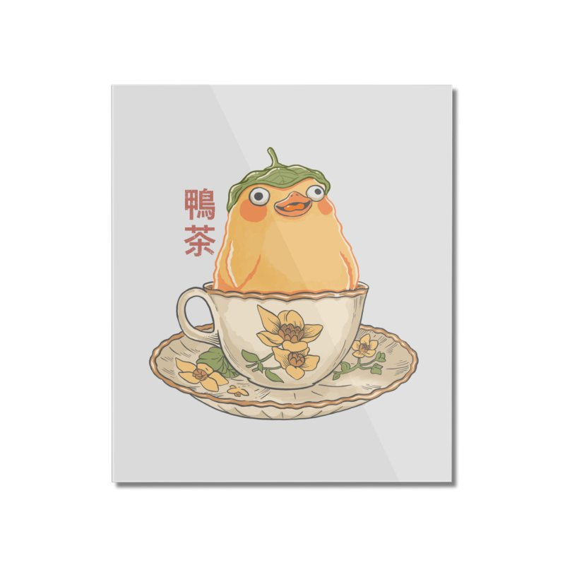 Duck Tea Home Mounted Acrylic Print by Pepe Rodríguez