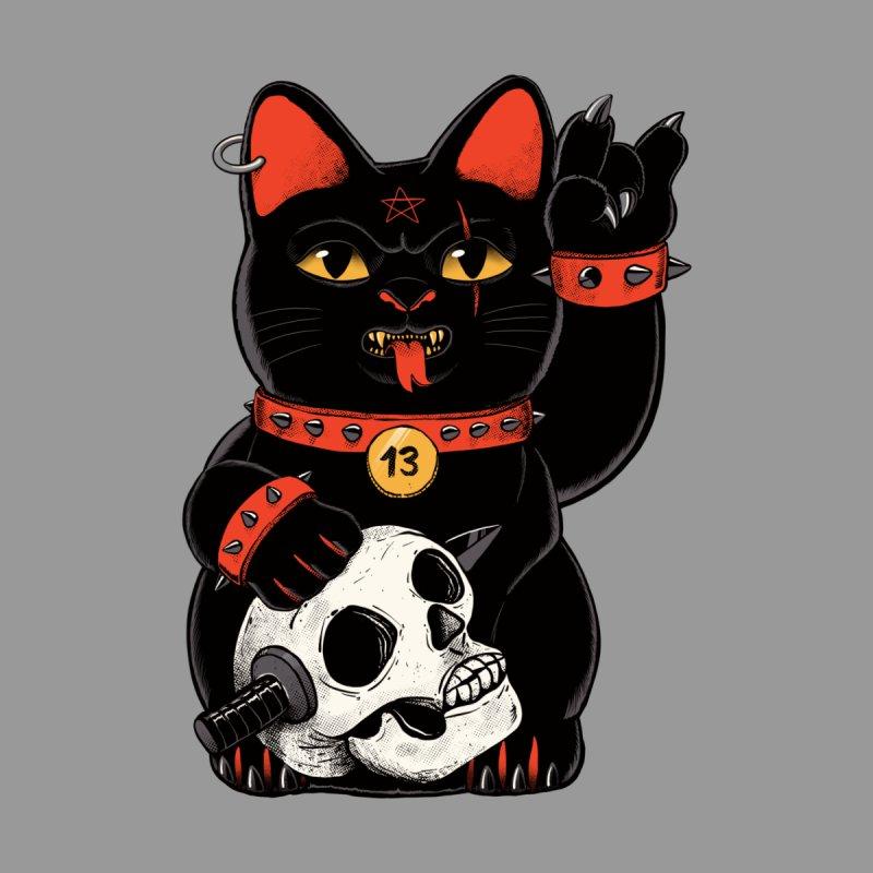 Unlucky Black Cat Women's V-Neck by Pepe Rodríguez