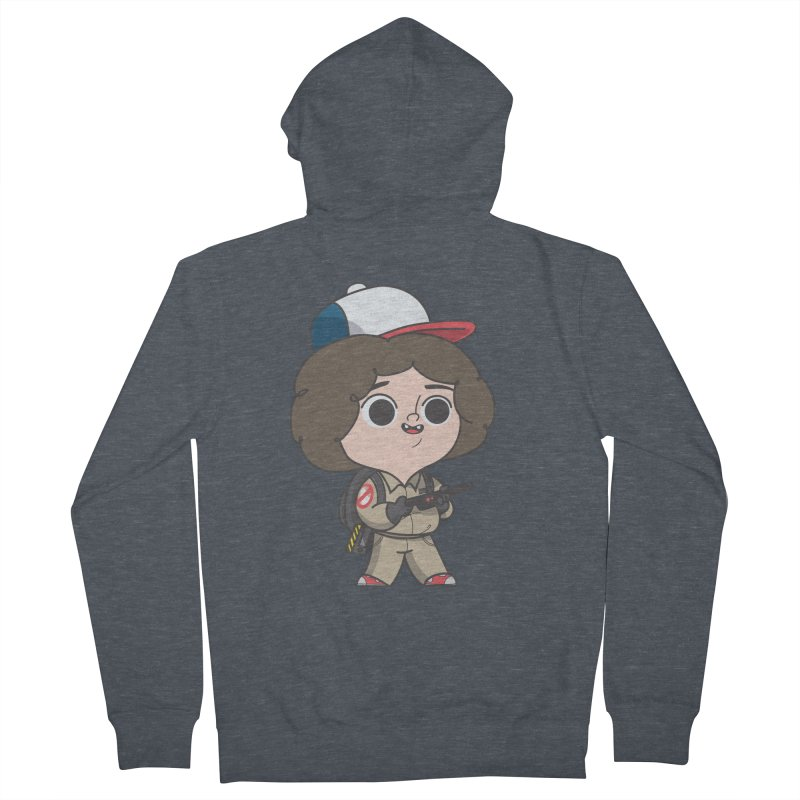 Ghost Things Men's French Terry Zip-Up Hoody by Pepe Rodríguez