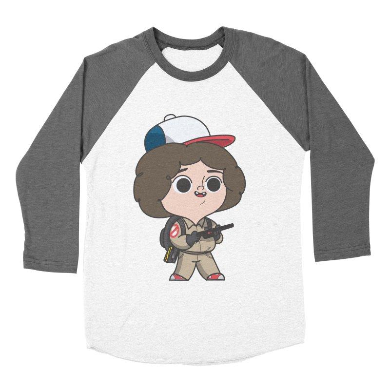 Ghost Things Women's Baseball Triblend Longsleeve T-Shirt by Pepe Rodríguez