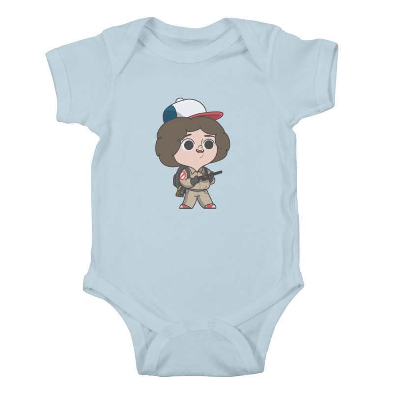 Ghost Things Kids Baby Bodysuit by Pepe Rodríguez