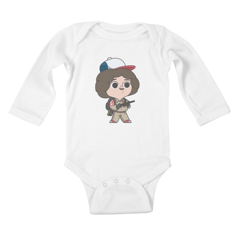 Ghost Things Kids Baby Longsleeve Bodysuit by Pepe Rodríguez