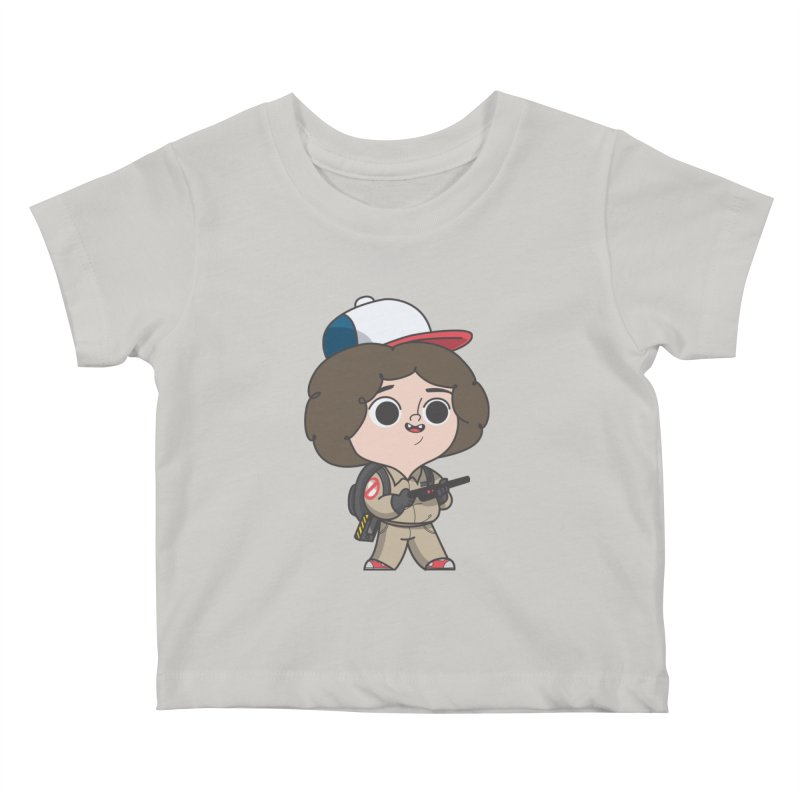 Ghost Things Kids Baby T-Shirt by Pepe Rodríguez