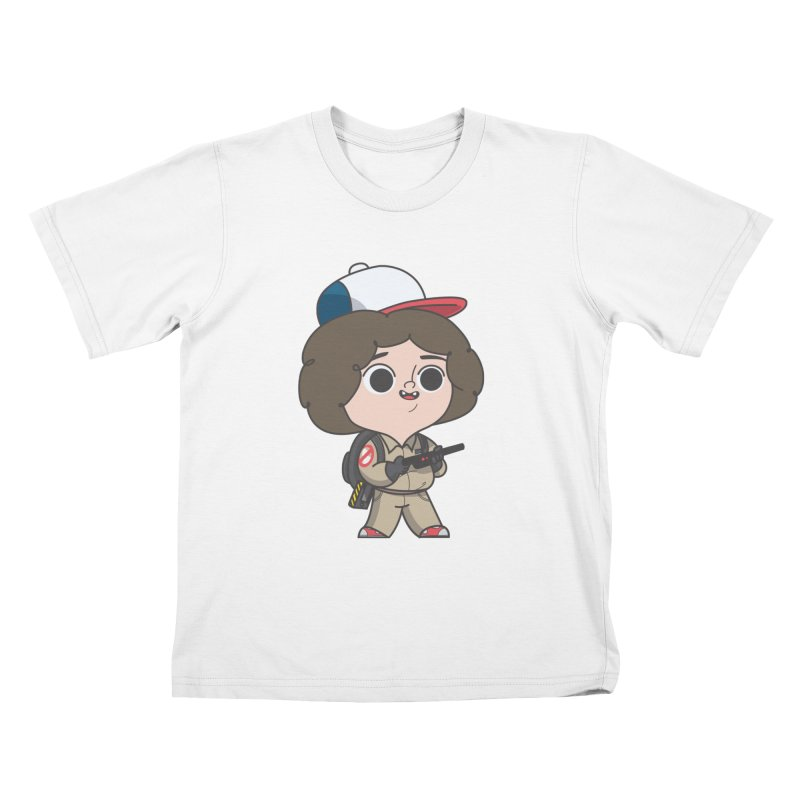 Ghost Things Kids T-Shirt by Pepe Rodríguez
