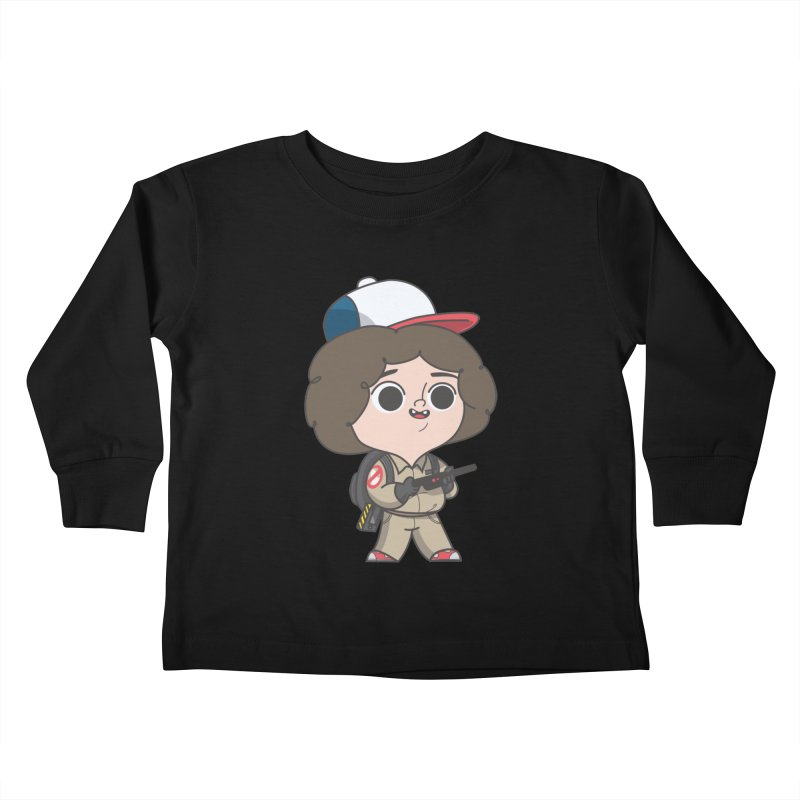 Ghost Things Kids Toddler Longsleeve T-Shirt by Pepe Rodríguez