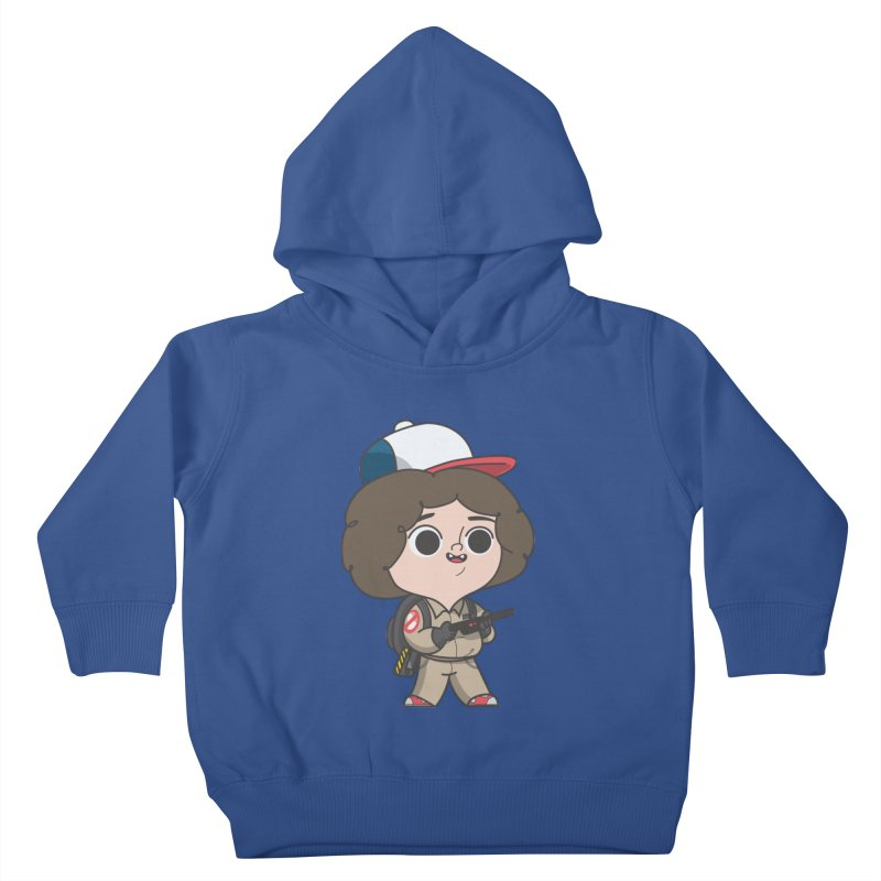 Ghost Things Kids Toddler Pullover Hoody by Pepe Rodríguez
