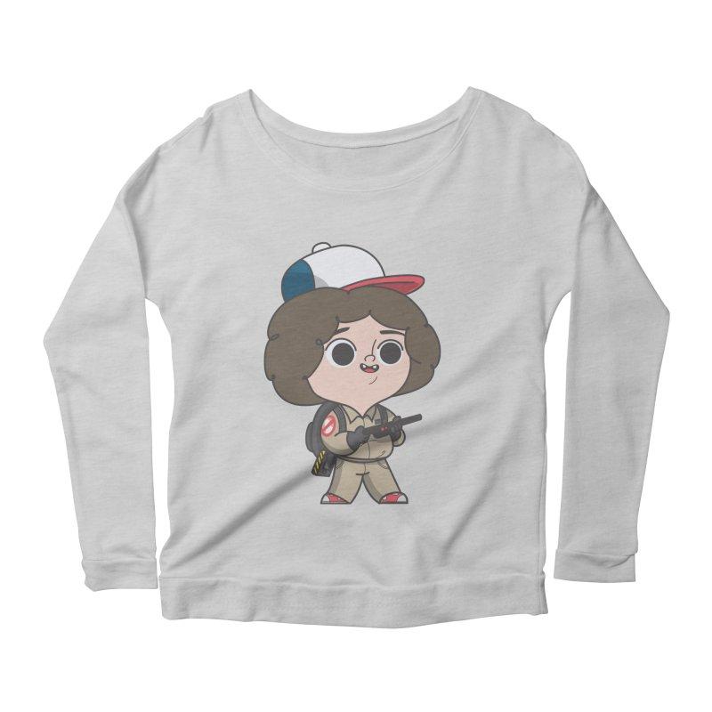 Ghost Things Women's Scoop Neck Longsleeve T-Shirt by Pepe Rodríguez