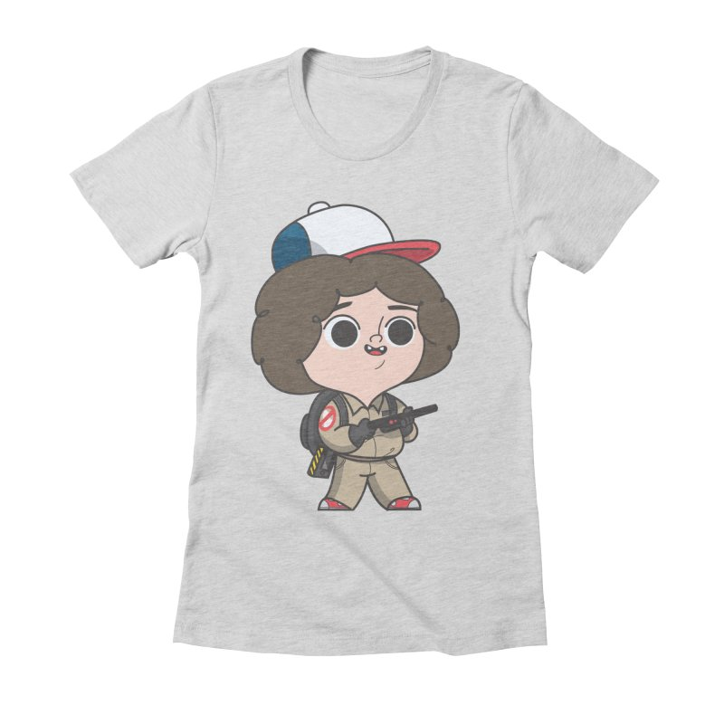 Ghost Things Women's Fitted T-Shirt by Pepe Rodríguez